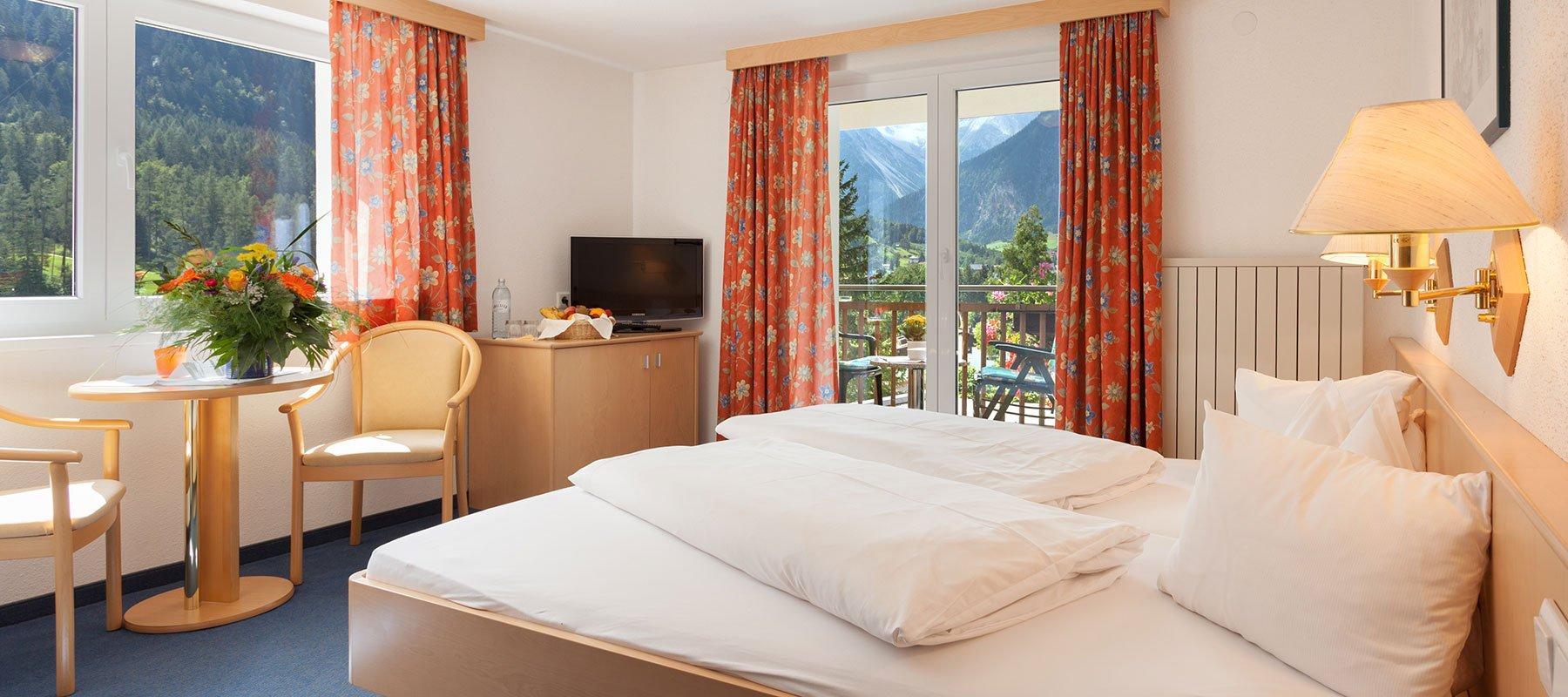 Zimmer im Alpenhotel Zimba